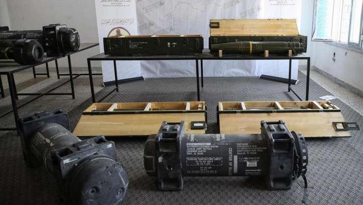 Arme franceze au fost descoperite în arsenalul maresalului Haftar - liderul fortelor antiguvernamentale din Libia, iunie 2019.
