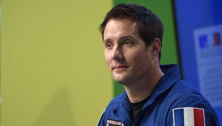 Astronautul francez Thomas Pesquet la Cité des Sciences Paris, 7 octombrie 2016