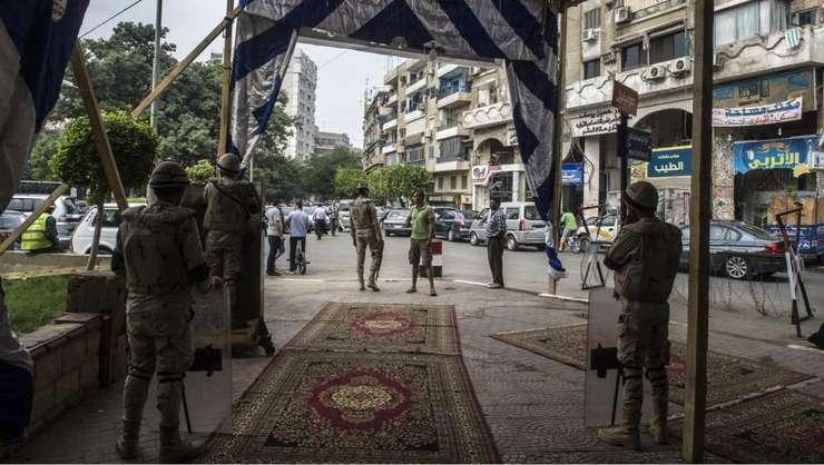 Cartierul Agouza din Cairo, fotografie de arhivă din octombrie 2015 (Foto: AFP/Khaled Desouki)