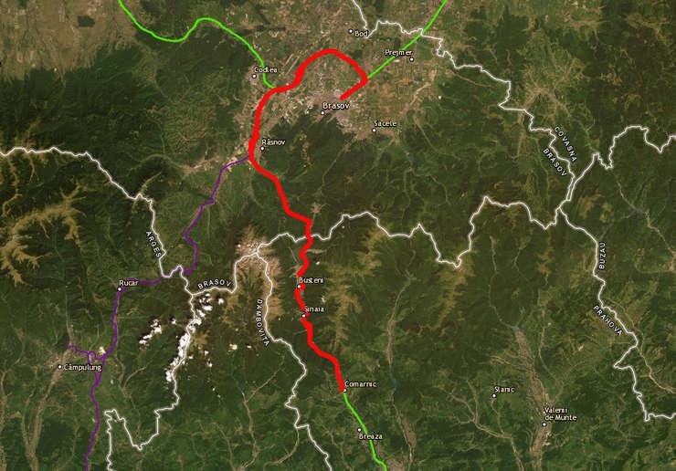 Ideea Autostrăzii Comarnic-Brașov datează din 1937
