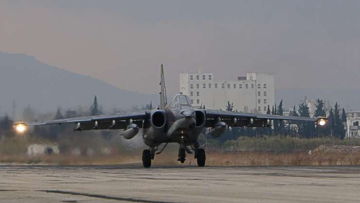 Armata regimului sirian este sprijinità de aviatia rusà