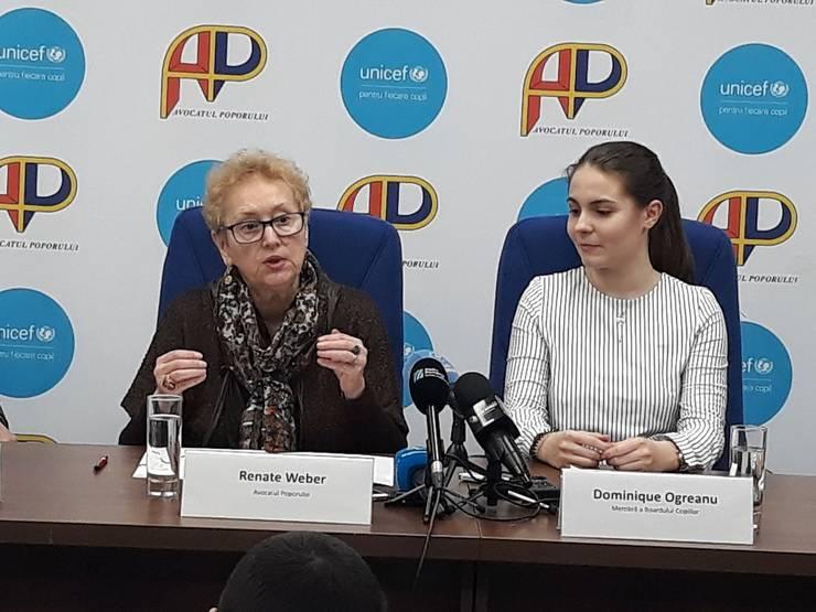 Renate Weber critică agresivitatea unor localnici din Ditrău (Sursa foto: Facebook/Avocatul Poporului)