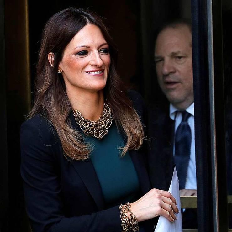 Avocata Donna Rotunno si magnatul de cinema Harvey Weinstein.