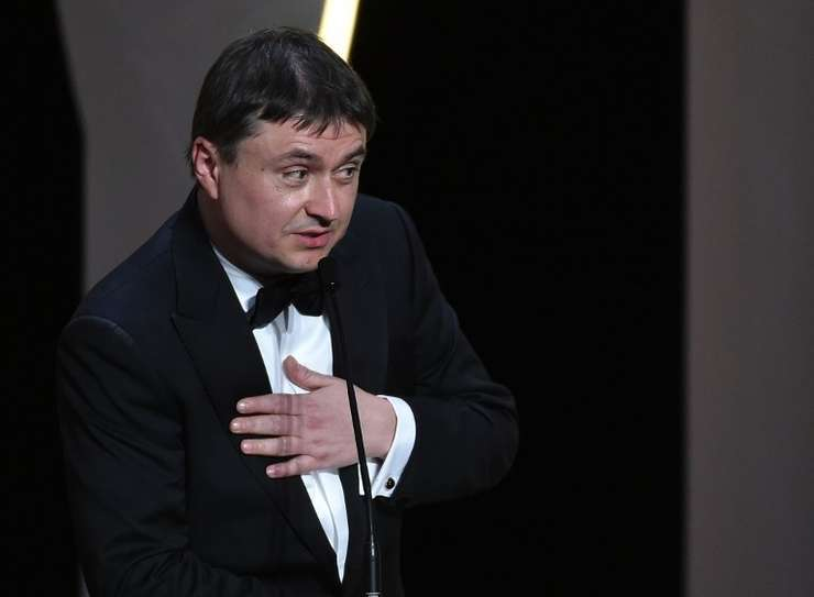 Cristian Mungiu, aici la Cannes (Foto: AFP/Alberto Pizzoli)