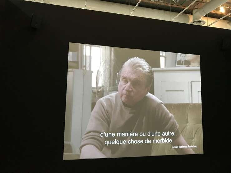 Francis Bacon / înregistrare video