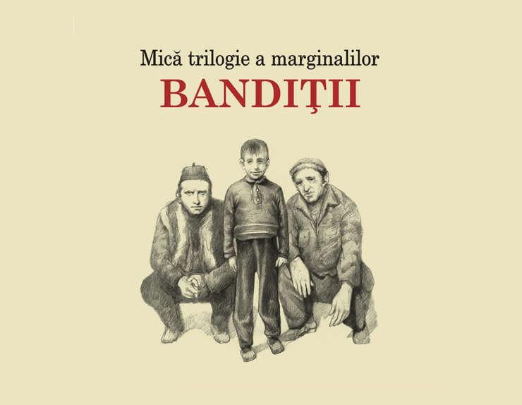Coperta cartii Banditii de Vasile Ernu