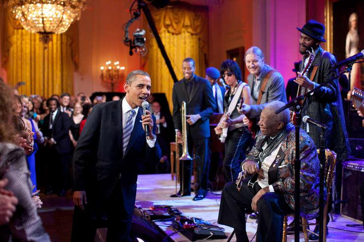 Ce muzică ascultă președintele Obama?