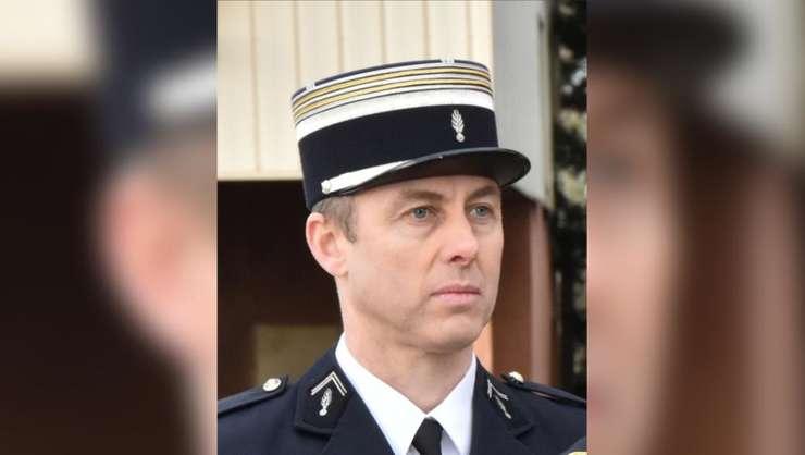 Locotenent-colonelul Arnaud Beltrame, ucis de teroristul de la Trèbes dupà ce le-a luat locul unor ostateci pe 23 martie 2018