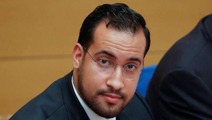 Alexandre Benalla la senatul francez, septembrie 2018