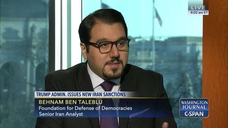 Behnam Ben Taleblu este specialist în problematica iraniană la Fundația Pentru Apărarea Democrațiilor din Washington.
