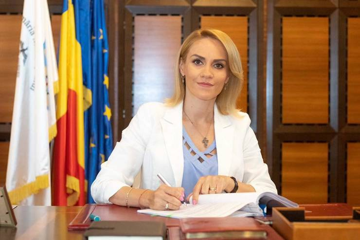 Gabriela Firea, criticată de ONG-uri (Sursa foto: Facebook/Primăria Capitalei)