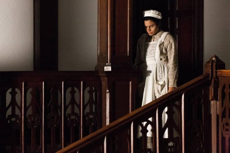 """Scenà din filmul """"Bilet de iertare"""" de si cu Alina Serban."""