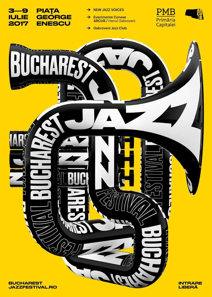 Afiș Bucharest Jazz Festival 2017