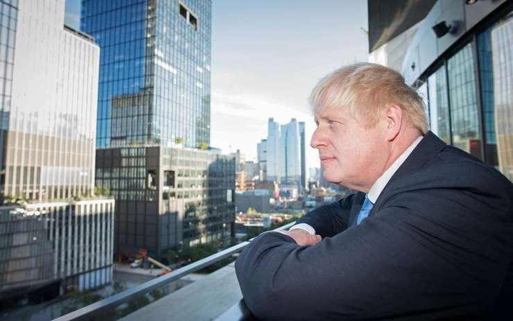 Boris Johnson la New York