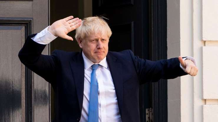 Boris Johnson la Londra pe 19 august 2019