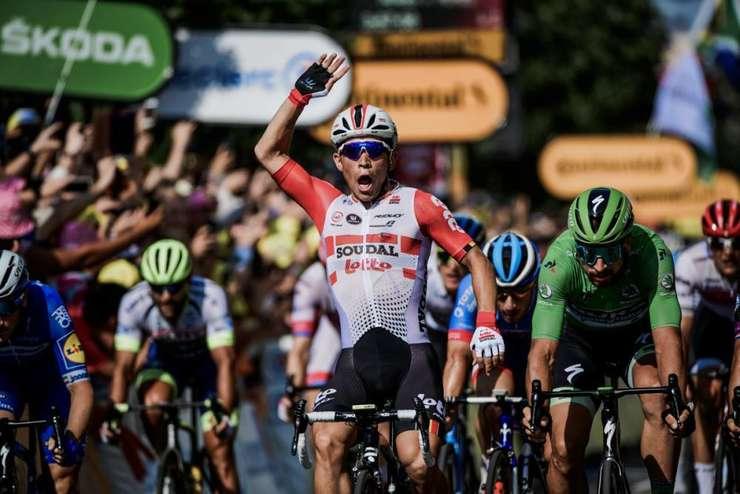 Caleb Ewan câștigă etapa la Nimes