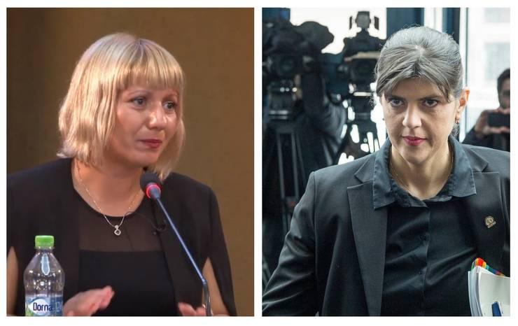 Judecătoarea Camelia Bogdan și fosta șefă a DNA, Laura Codruța Kovesi