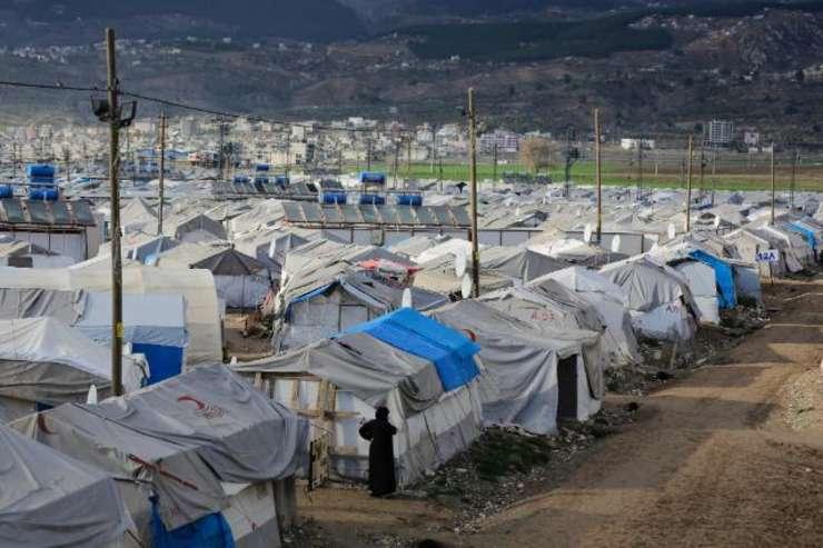 Campul de refugiati din Kahramanmaras, Turcia