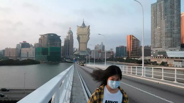 Macao, China, martie 2020