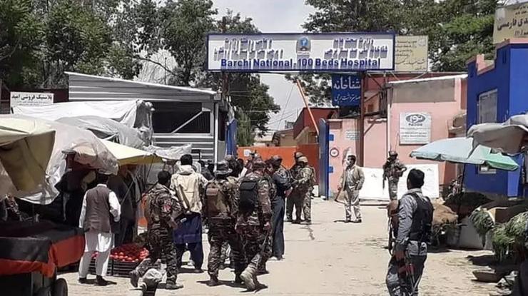 Spitalul de la Kabul atacat de jihadişti pe 12 mai 2020.