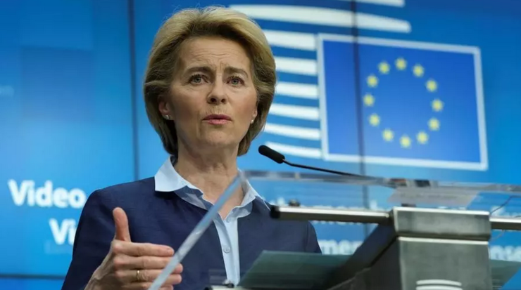 Preşedinta Comisiei europene, Ursula von der Leyen
