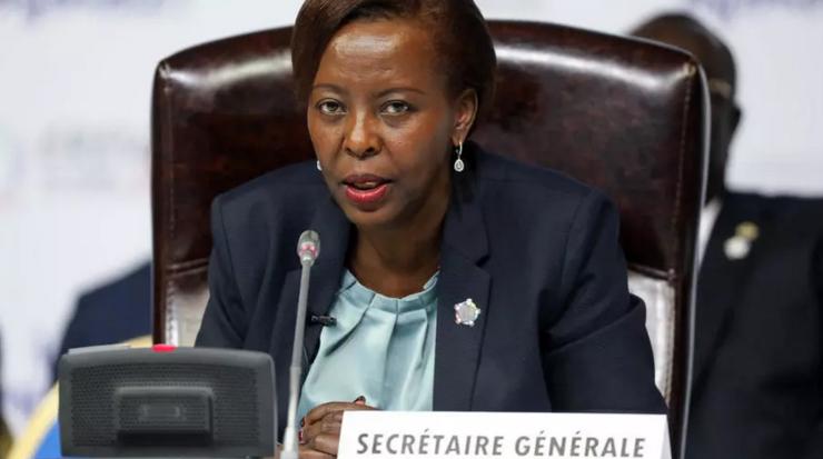 Louise Mushikiwabo, secretară generală a Francofoniei din octombrie 2018.