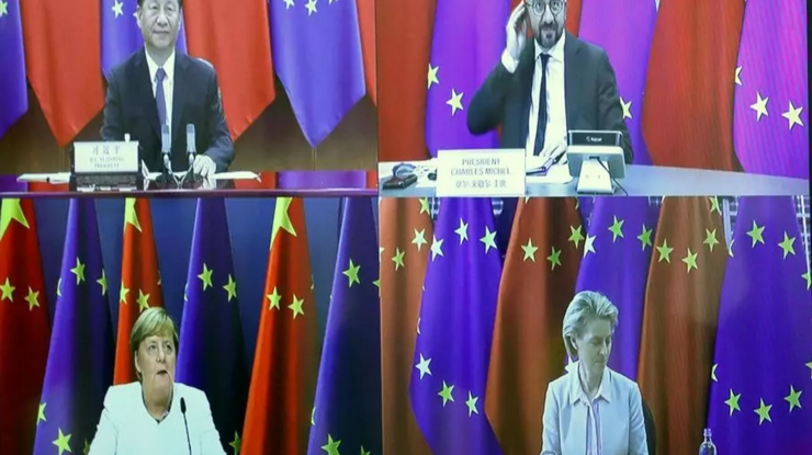 Summit UE China, septembrie 2020