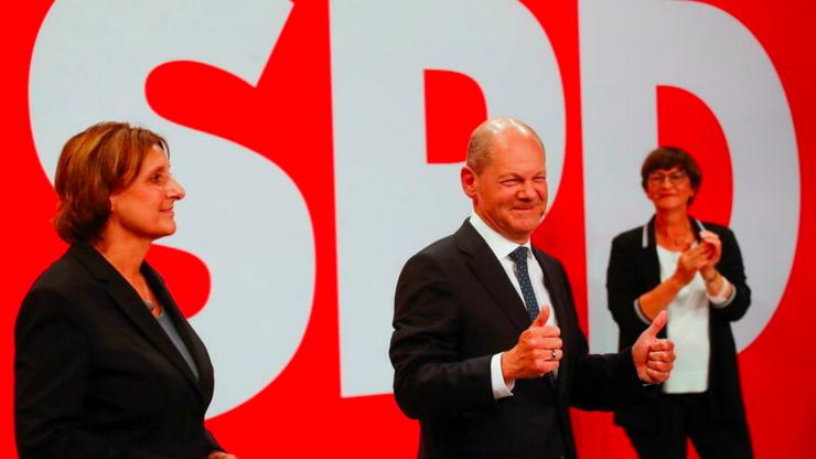 Social-democratul german Olaf Scholz