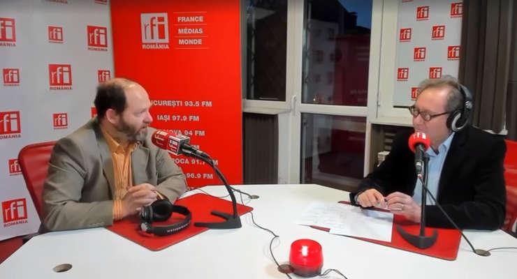 Cătălin Tobescu si Constantin Rudnitchi la radio
