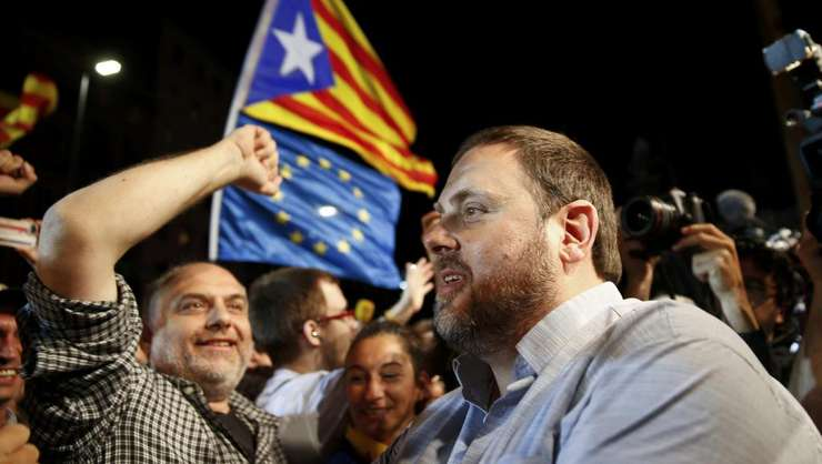 Partizanii independentei serbeazà victoria de duminicà dar drumul spre o Catalonie liberà riscà sà mai fie lung