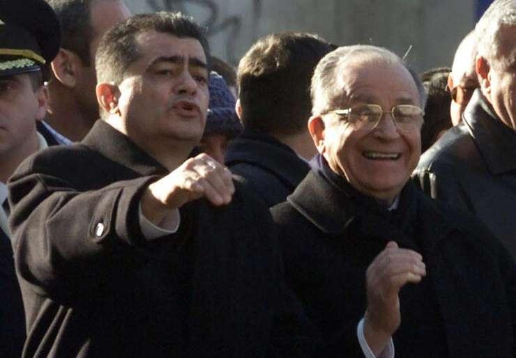 Cazimir Ionescu şi Ion Iliescu (Sursa foto: Facebook/Corupţia Ucide)