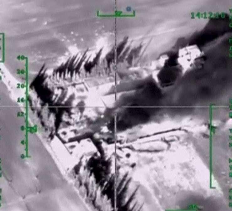 Bombardamente ale Rusiei în Siria (Foto: Reuters/Ministerul rus al Apărării)