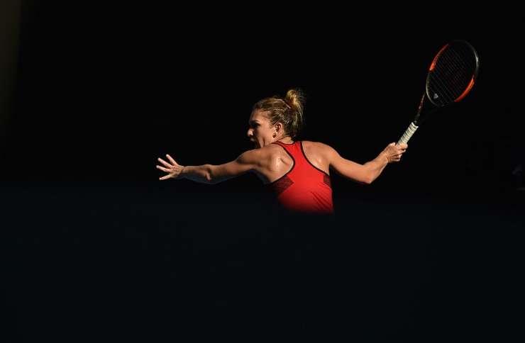Simona Halep, în căutarea primului trofeu de Grand Slam din carieră (Sursa foto: AFP/Peter Parks)