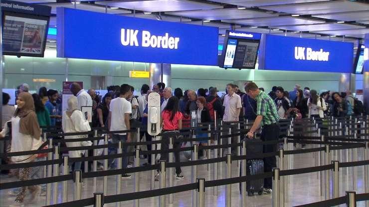 Punct de trecere a frontierei în UK