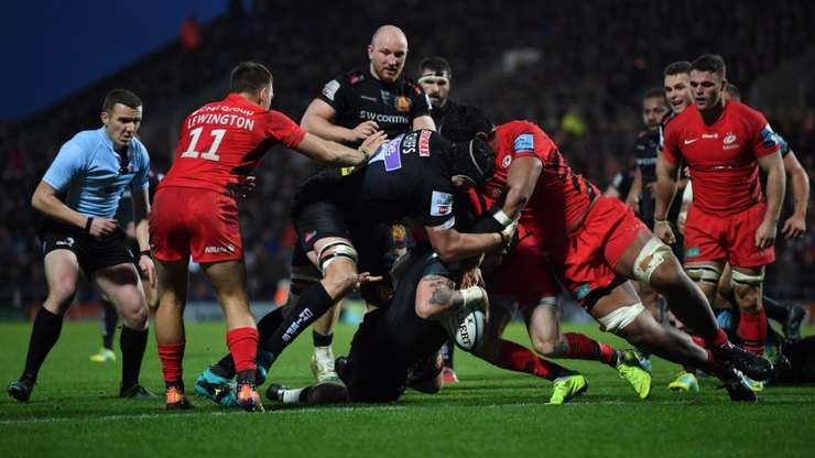 Exeter Chiefs 31 Saracens 13