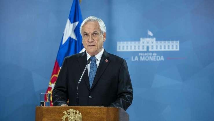 Presedintele Chile, Sebastian Pinera, a anuntat cà renuntà sà mai organizeze reuniunile COP25 si APEC prevàzute luna viitoare si în decembrie