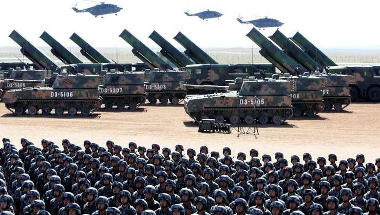 China dispune de prima armata din lume ca marime - 2 milioane de barbati
