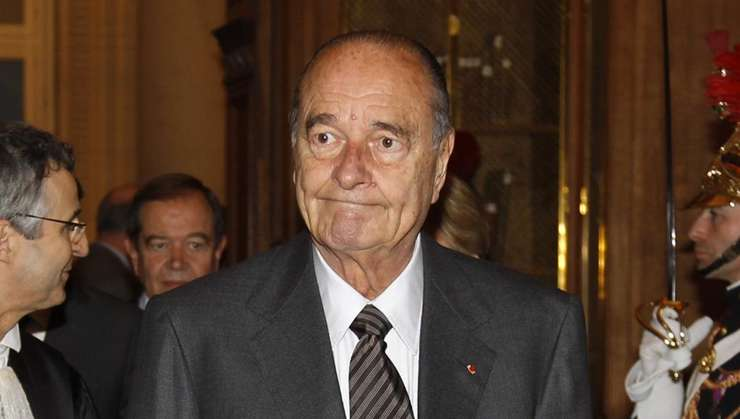 Jacques Chirac în ianuarie 2011, cu câteva luni înaintea procesului la care avea sà fie condamnat