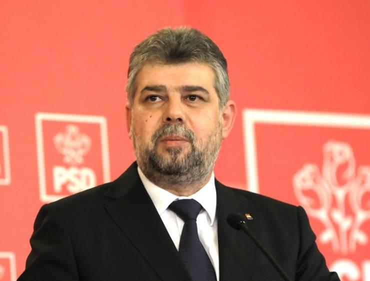 Președintele PSD, Marcel Ciolacu