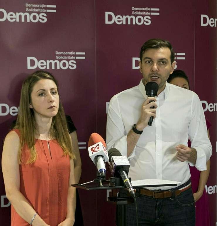 Claudiu Crăciun vrea să candideze la Președinția României (Sursa foto: Demos)