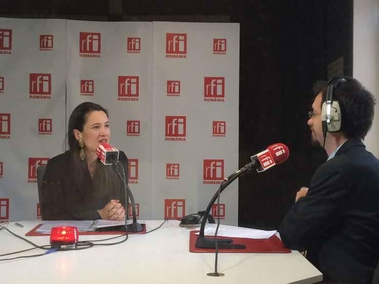 Consilierul local USR Clotilde Armand (Foto: arhivă RFI)