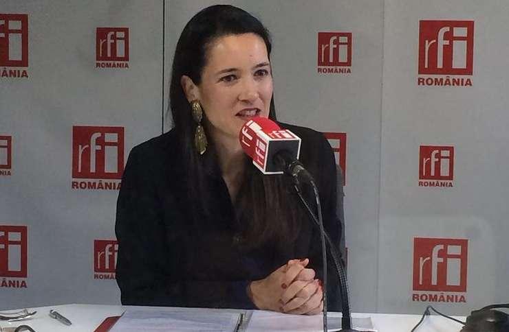 Clotilde Armand (Foto: RFI/Amedeo Achim/arhivă)