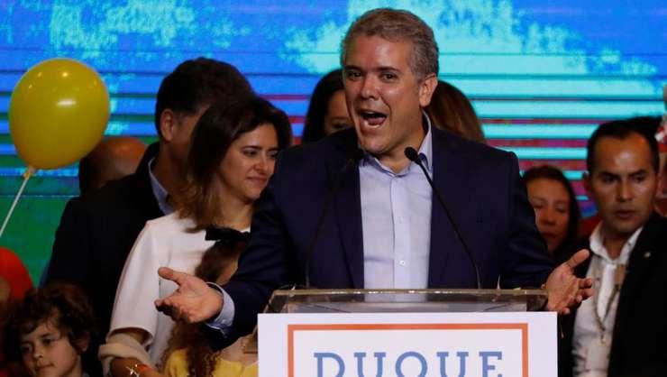 Noul presedinte columbian Ivan Duque