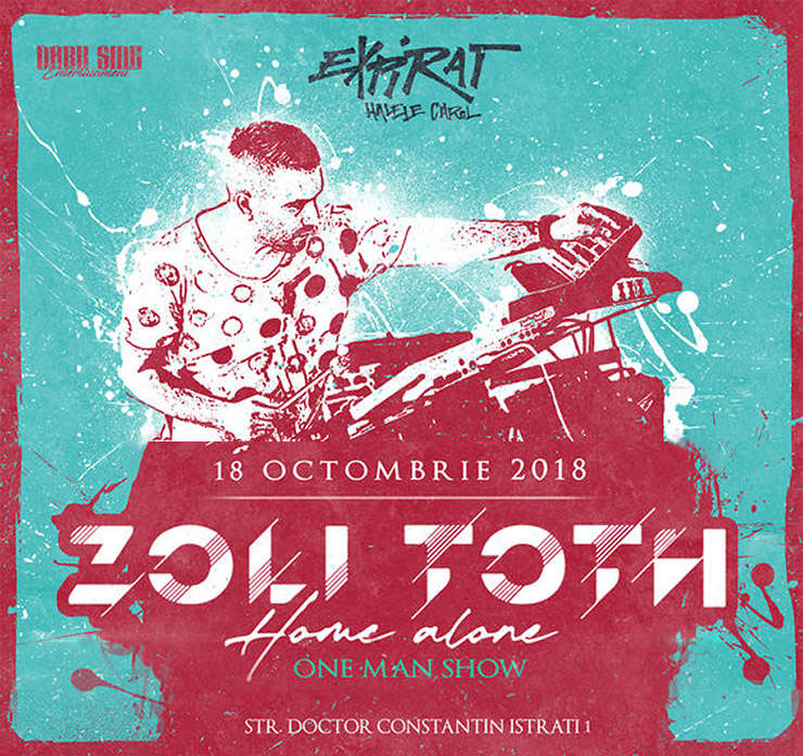Afis concert Zoli Toth