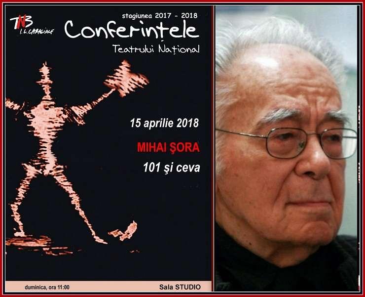 Conferința Mihai Șora