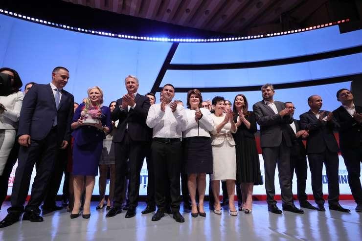 Congresul Extraordinar al Partidului Social Democrat a avut loc sâmbătă, 29 iunie 2019, la Sala Palatului din București