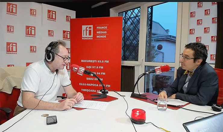 Constantin Rudniţchi si Dan Dascălu