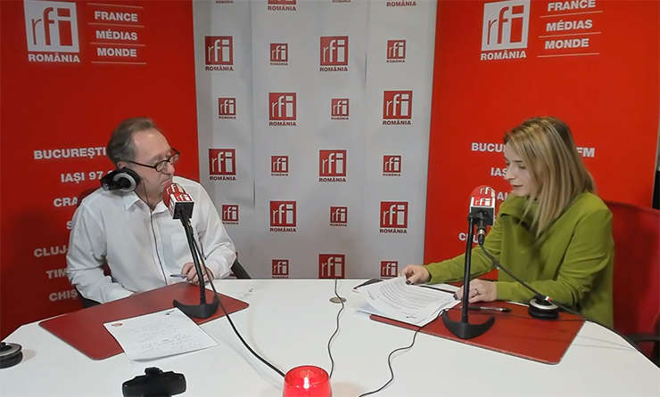 Constantin Rudnitchi și Denisa Panaite Casu