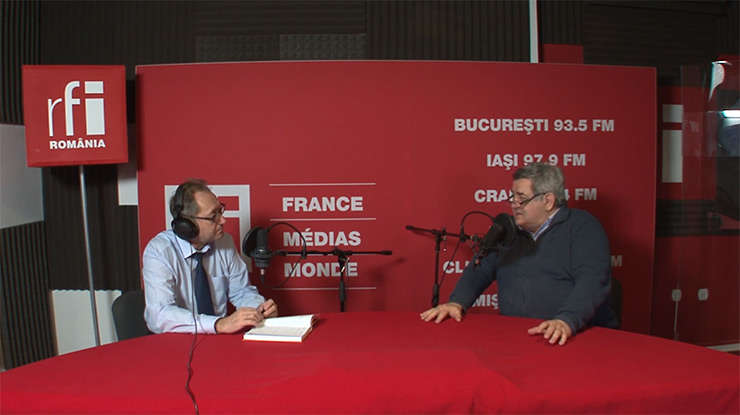 Constantin Rudniţchi si Ionuţ Purica la RFI