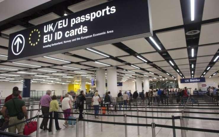 Control pașapoarte
